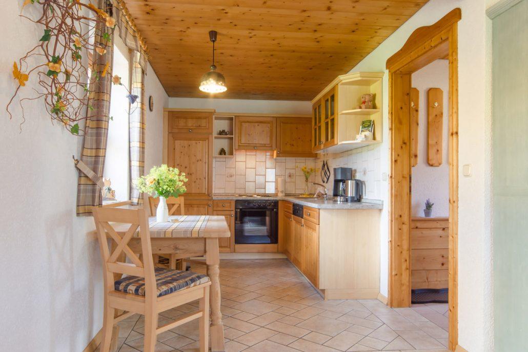 Ferienwohnung Kuni im Blockhäusern des Landurlaub Heumann in Trägweis bei Pottenstein