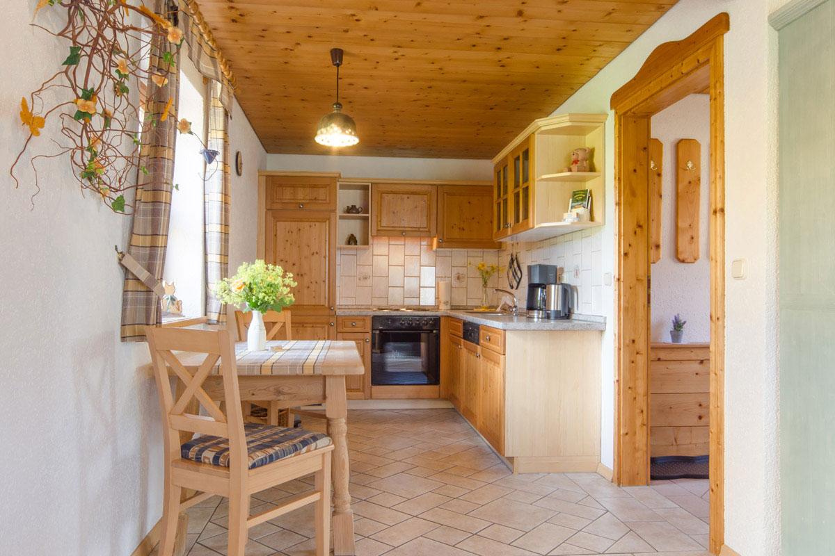 Ferienwohnung Kuni im Blockhäuserl in der Fränkischen Schweiz