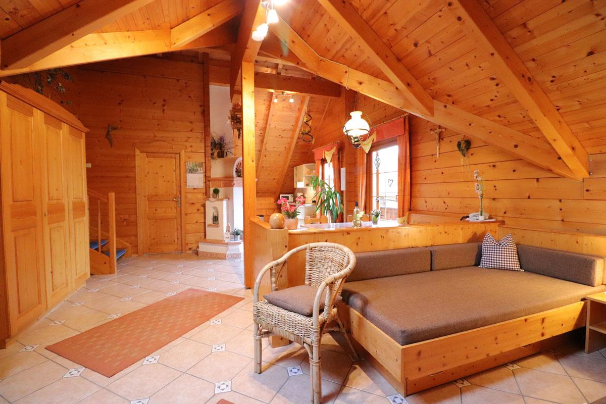 Ferienwohnung Willi im Blockhäuserl in der Fränkischen Schweiz